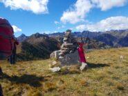 Monte Vaccia ,l'ultima cima prima della discesa