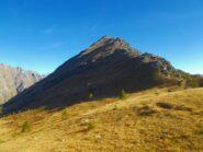la cima di Costabella dal Passo Sottano di Scolettas