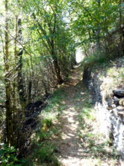 ultimo tratto verso Pradleves