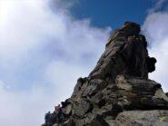 Dal passo Guillemin verso la cima.
