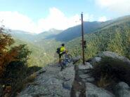 panorama sul vallone di Gilba