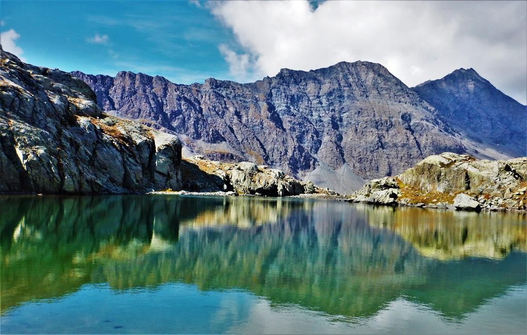 Il bellissimo lac Porcieroles