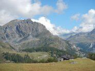 oggi il Monte Cervino è rimasto avvolto dalle nuvole
