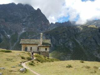 la cappella del Lago di Cignana