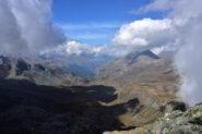 Veduta verso la valle di Cogne dalla vetta