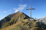 la lunga cresta da percorrere dal Mont Paillasse