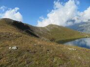 La P.ta Cornet, sopra il lago omonimo