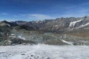 ultimo tratto con poca neve, ghiaccio non troppo duro e pietre in agguato