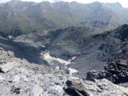(Quello che resta del) ghiacciaio della Ramière.