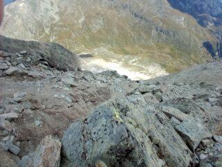 Natura del terreno, quando non ci arrampica per facili blocchi