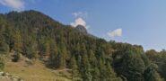 La Tete du Mont vista dalla partenza