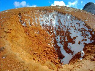 Inquietante cratere...