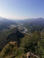 Panorama dall'arrivo della Falconera