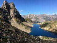 lago blu e Corno Talli