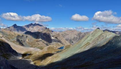 L'alta valle Ubaye dalla Tete du Vallonet