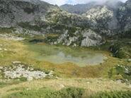 Lac Bonel colmo di alghe