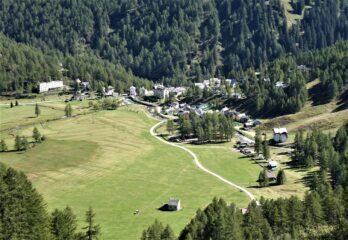 Verso l'Alpe Devero