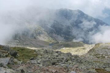 Kiersee, Alpe Krecht e cresta dal Monte Pietra Bianca visti dalla vetta