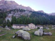 Arrivo all'Alpe Sup.
