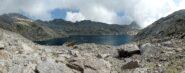 Il lago Gelato salendo alla bocchetta di Gialin