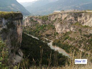 Verdon?  no! Guil: Mont Dauphin da Simoust