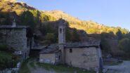 La chiesetta di S.Anna nella luce del tardo pomeriggio