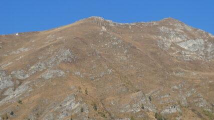 madonna alpina e croce della cima di crosa