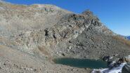 lago gelato e via di salita