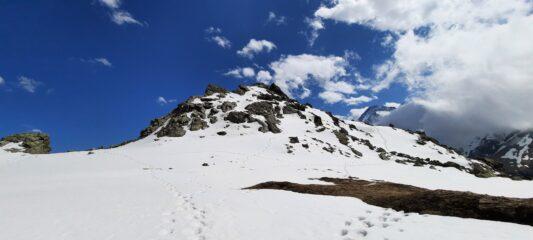 Rocca Ciarva dal colle Battaglia