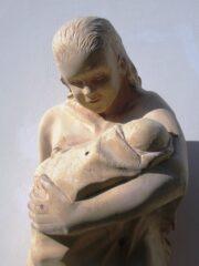 Una delle tante sculture