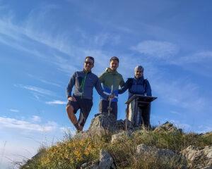 Punta del Corno con Filippo e Andrea