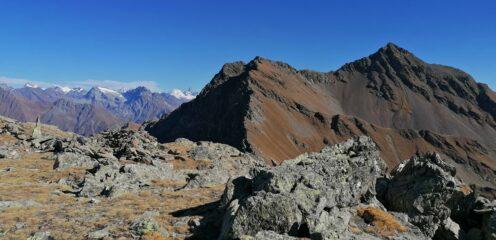 Panorama sul Mont Fallere