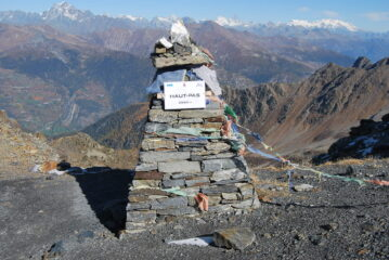 A Passo Alto, scelto come alternativa al Passo di Planaval
