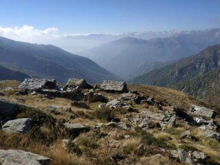 Superata l'Alpe Liri.