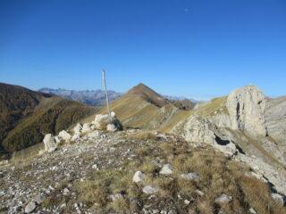 Il Fera' (m2245) e Cima Pertega' (m.2404) visti da Rocca Fera' (m.2221)
