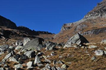 Vista del Colle Pinter dal mio punto di ritorno, quasi a Loasche inf. Sarà per la prossima ….