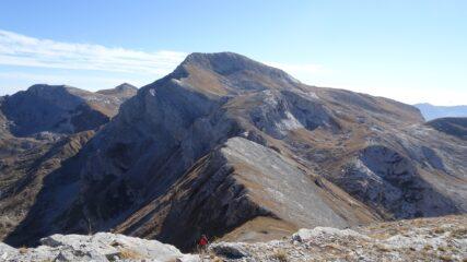 Itinerario dalla Cima Brignola