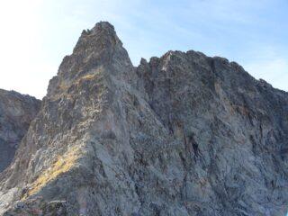 La cresta della Spalla dalla cresta di Manzone