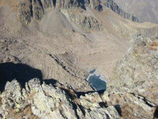 lago Mongioie dalla vetta