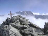 la vetta e il Mont Velan