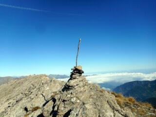 la allungata cima del Lungin