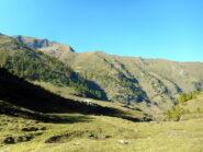 dall'Alpe Balma la cima è già visibile