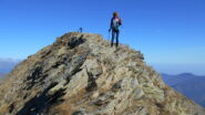 Inizio della traversata dalla Punta Imperatoria alla Punta della Croce