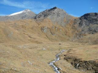 Punta Ramiere 3302 m. vista dal bivacco Tornior