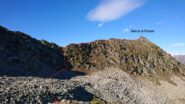 Il percorso per scendere nel vallone di Val Frèide