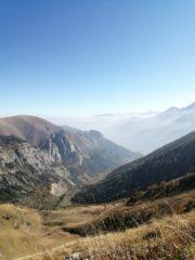 Vista dall'alto del vallone di Neraissa