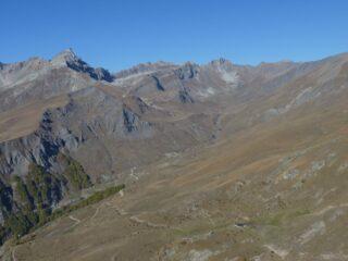 Vallone di Traversiera dal Monte Cappel
