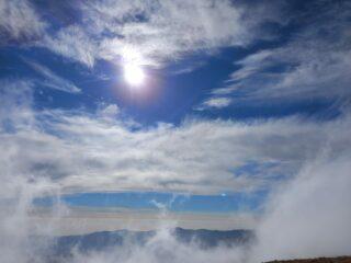 Tra le nuvole!