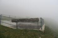 la Tsa de Met immersa nella nebbia