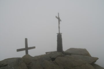 anche in cima gran nebbione